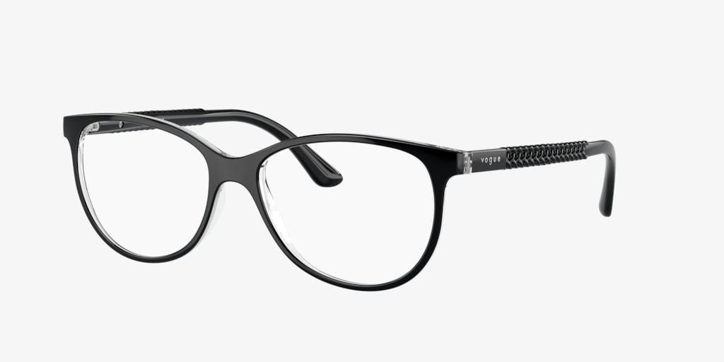 Vogue VO5030 Black/Transparent Eyeglasses