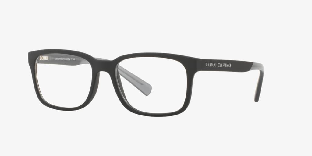 Armani Exchange AX3029 Matte Black Eyeglasses