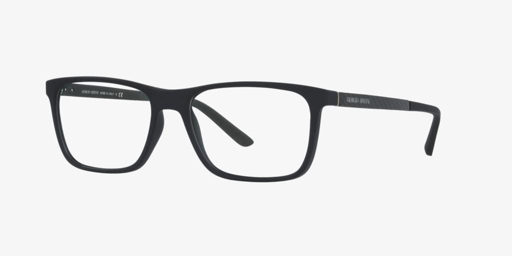 Giorgio Armani AR7104 Black Rubber Eyeglasses
