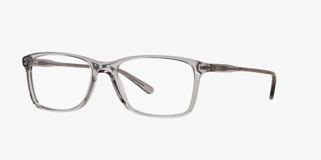 Polo Ralph Lauren PH2155 Transparent Grey Eyeglasses