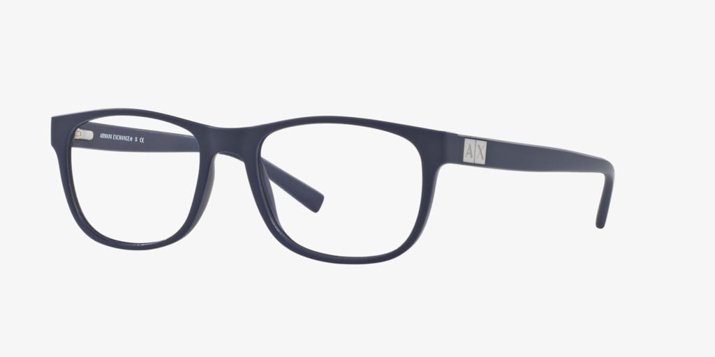 Armani Exchange AX3034 Matte Blue Eyeglasses