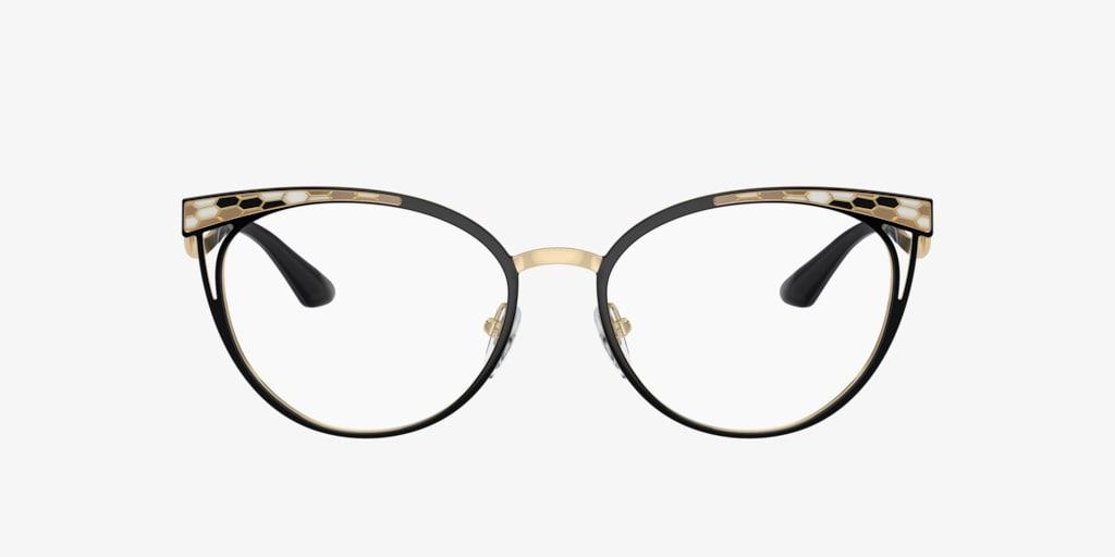 Bulgari BV2186 Black/Pale Gold Eyeglasses