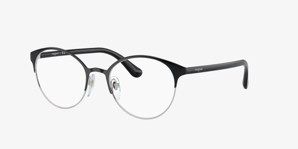 Vogue VO4011 Black/Silver Eyeglasses