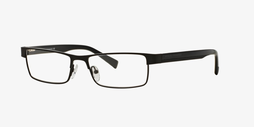 Armani Exchange 0AX1009 Matte Black Eyeglasses