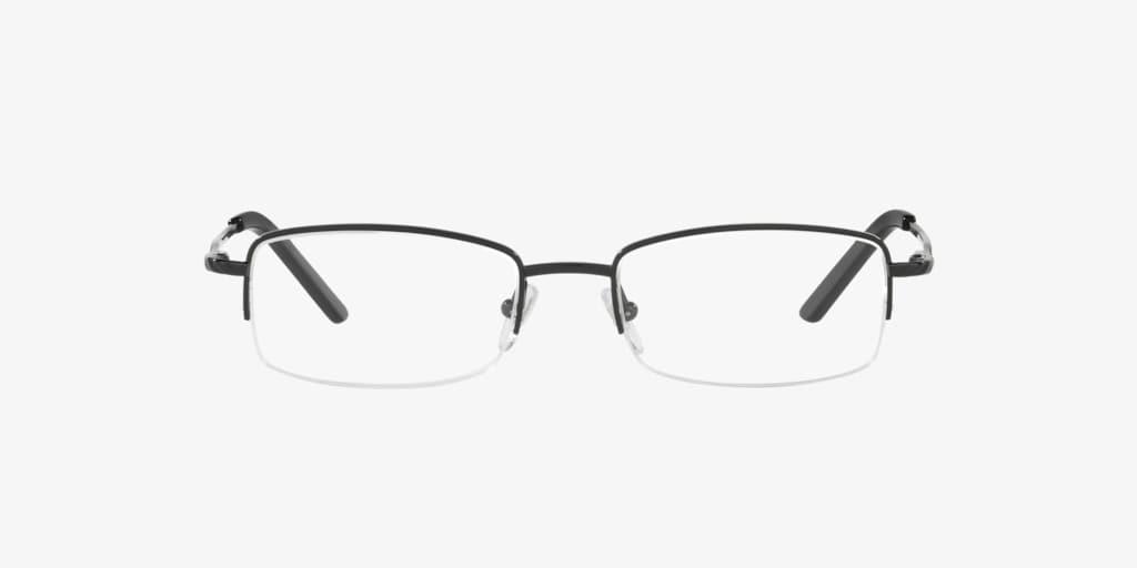 Sferoflex SF2582 Matte Black Eyeglasses