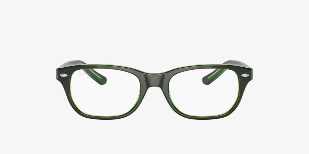 Ray-Ban Jr RY1555 Brown On Green Fluo Eyeglasses