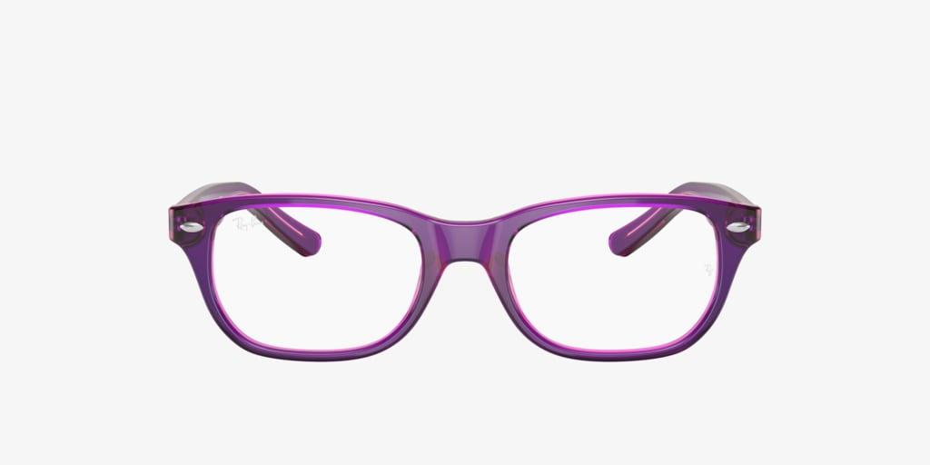 Ray-Ban Jr RY1555 Violet On Fuchsia Fluo Eyeglasses