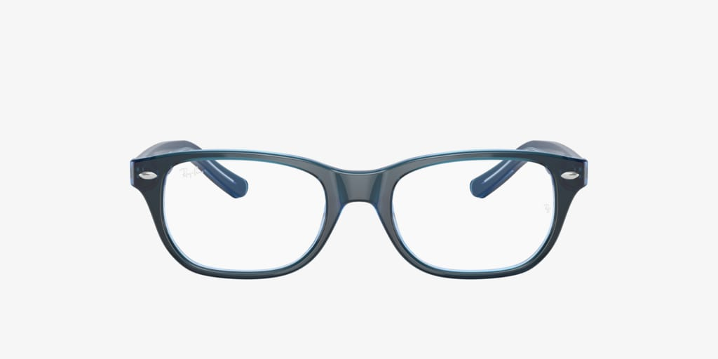 Ray-Ban Jr RY1555 Blue On Blue Fluo Eyeglasses
