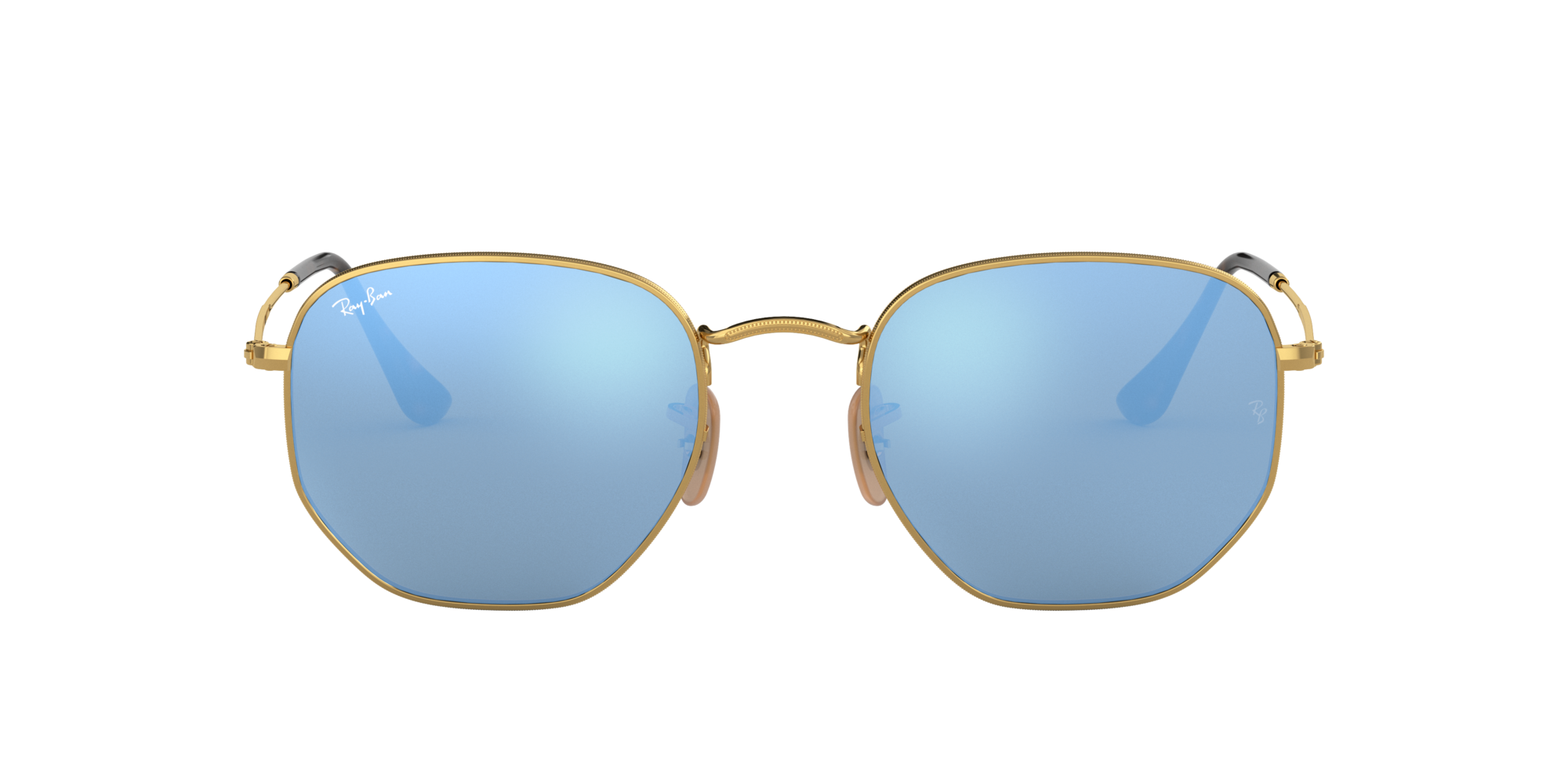 Imagen para RB3548N 51 HEXAGONAL de LensCrafters |  Espejuelos, espejuelos graduados en línea, gafas