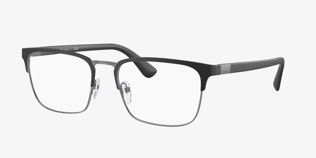 Prada PR 54TV Matte Black Eyeglasses