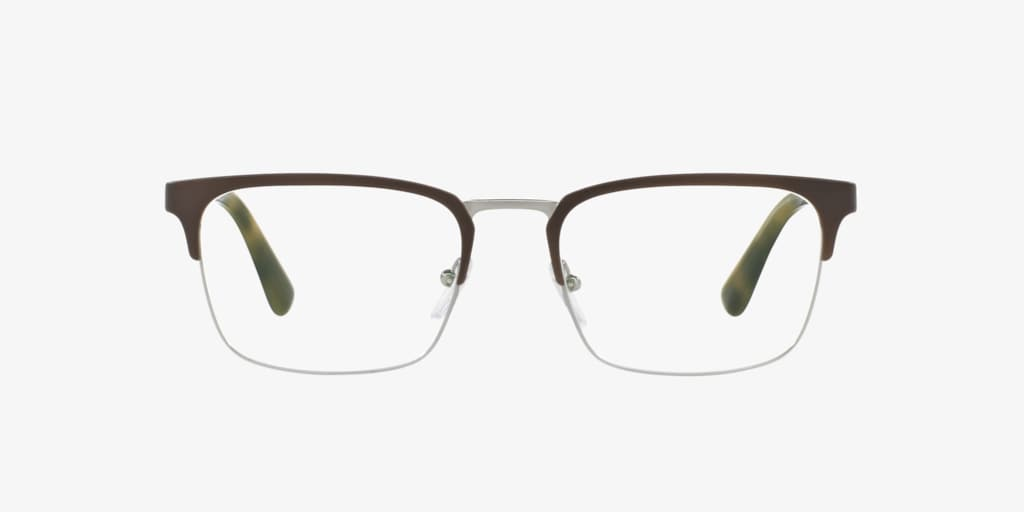 Prada PR 54TV Grey/Gunmetal Eyeglasses