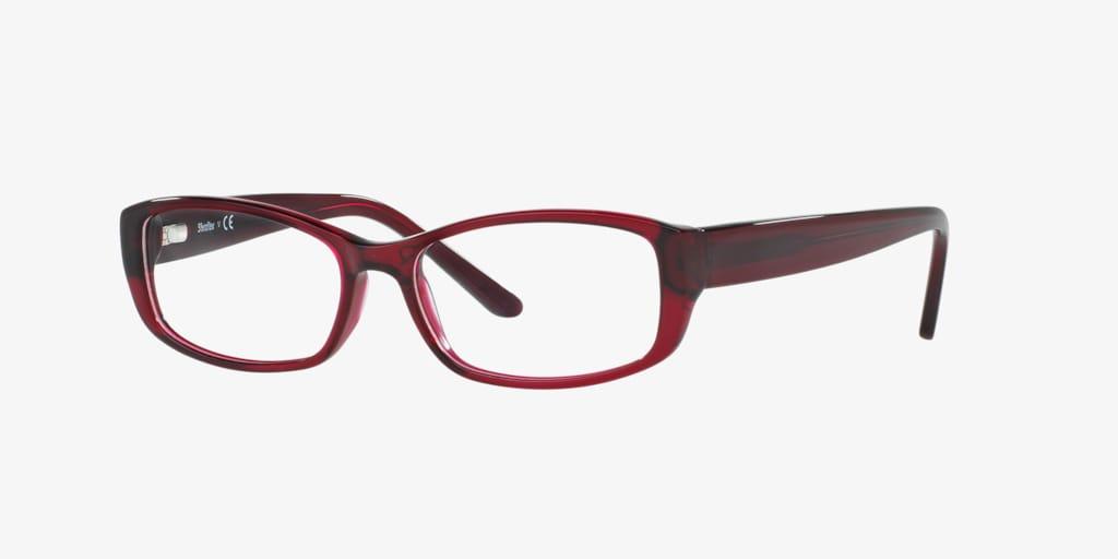 Sferoflex SF1560 Trasparent Bordeaux Eyeglasses