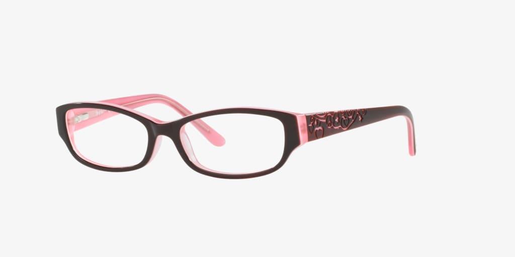 Sferoflex Children SF1844 Brown On Pink Eyeglasses