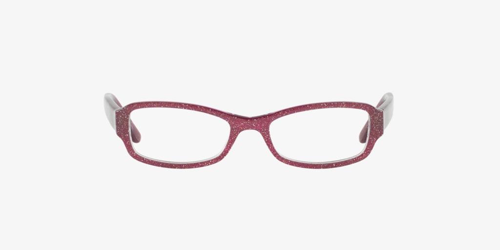 Sferoflex Children SF1849 Burgundy Glitter Eyeglasses