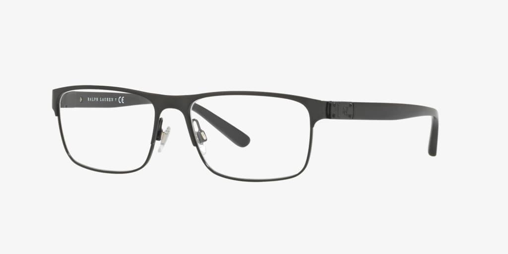 Ralph Lauren RL5095 Semi-Shiny Black Eyeglasses