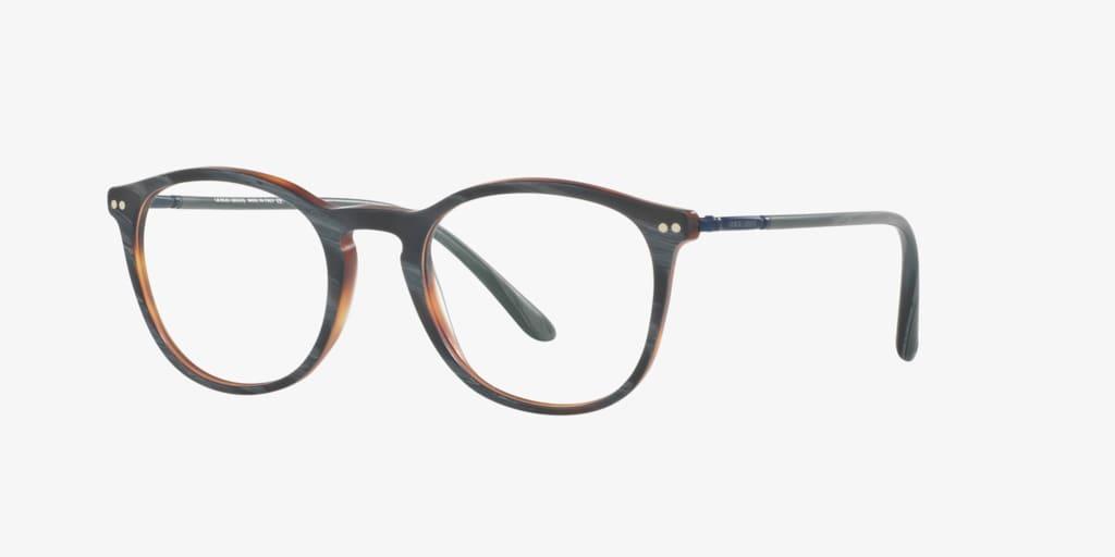 Giorgio Armani AR7125 Matte Grey Horn Eyeglasses