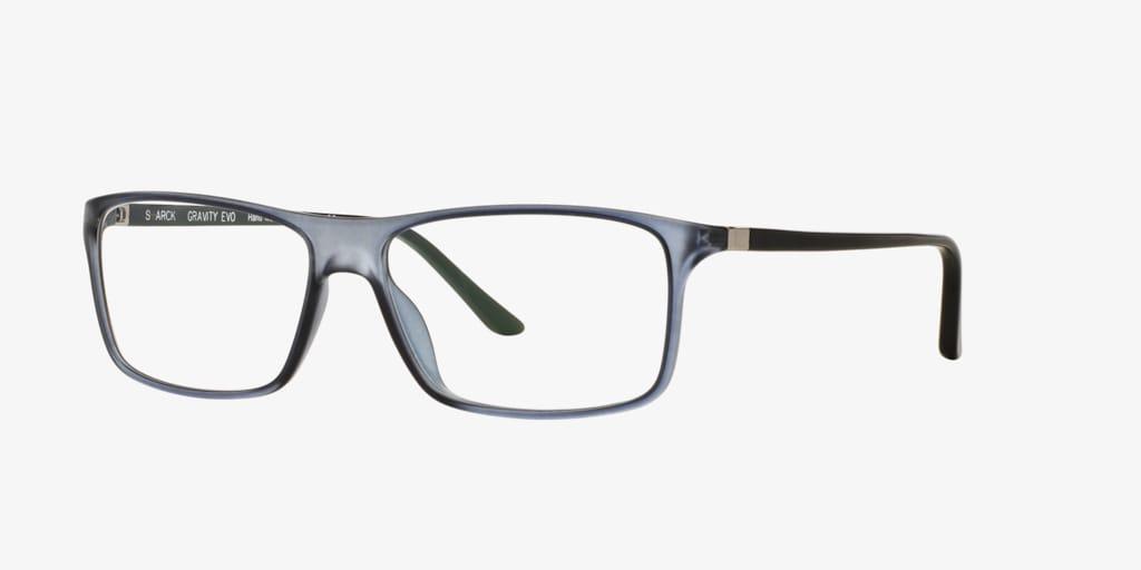 Starck Eyes SH1043X PL1043 Matte Light Blue Eyeglasses