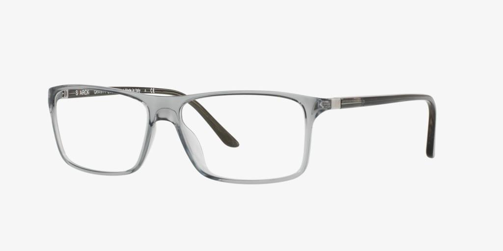 Starck Eyes SH1043X PL1043 Shiny Grey Eyeglasses