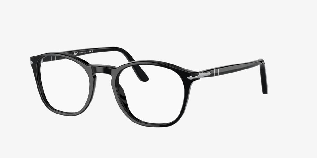 Persol PO3007V Black Eyeglasses