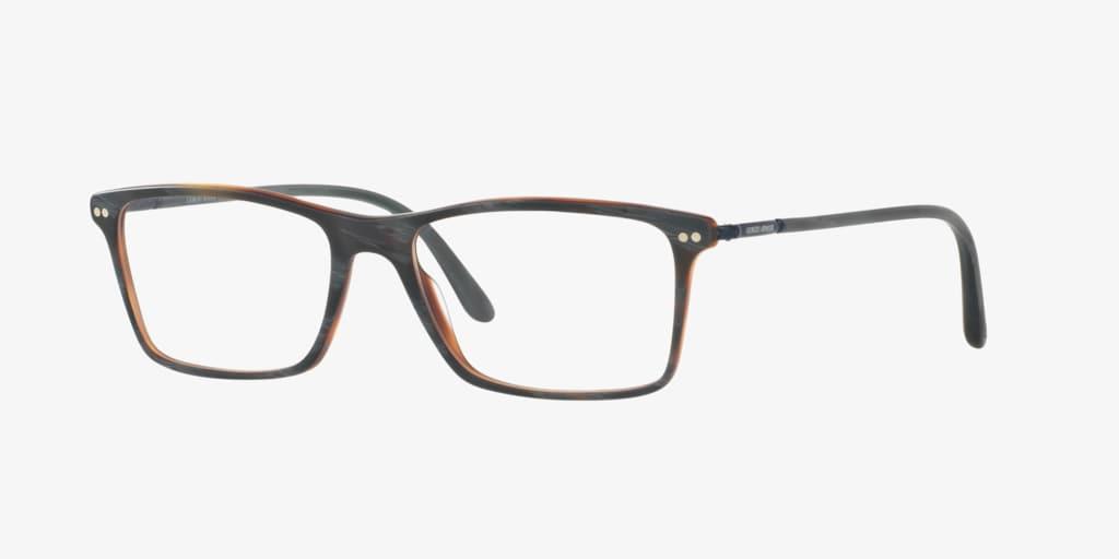 Giorgio Armani AR7037 Matte Grey Horn Eyeglasses