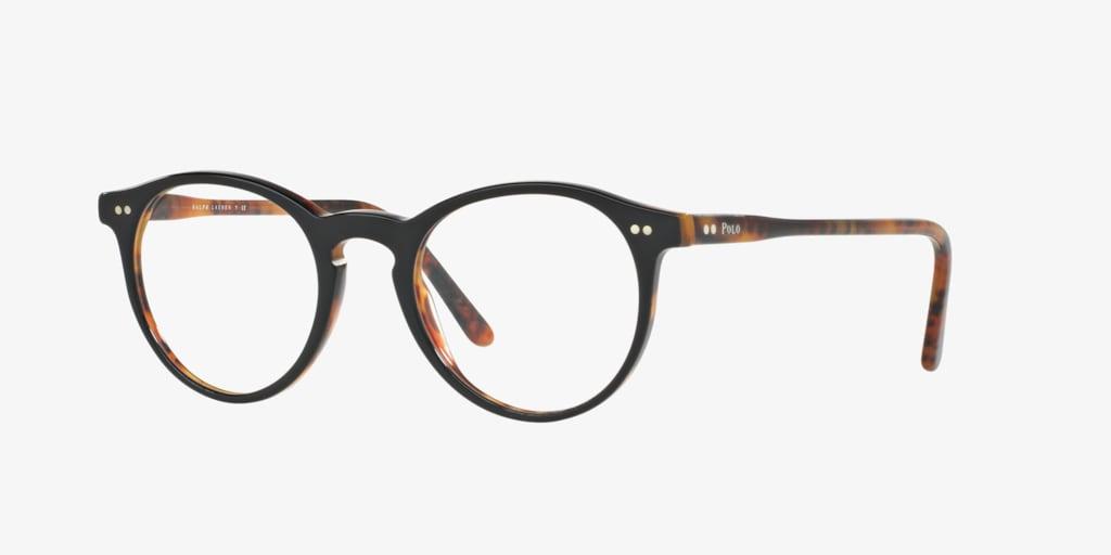 Polo Ralph Lauren PH2083 Shiny Black On Jerry Havana Eyeglasses