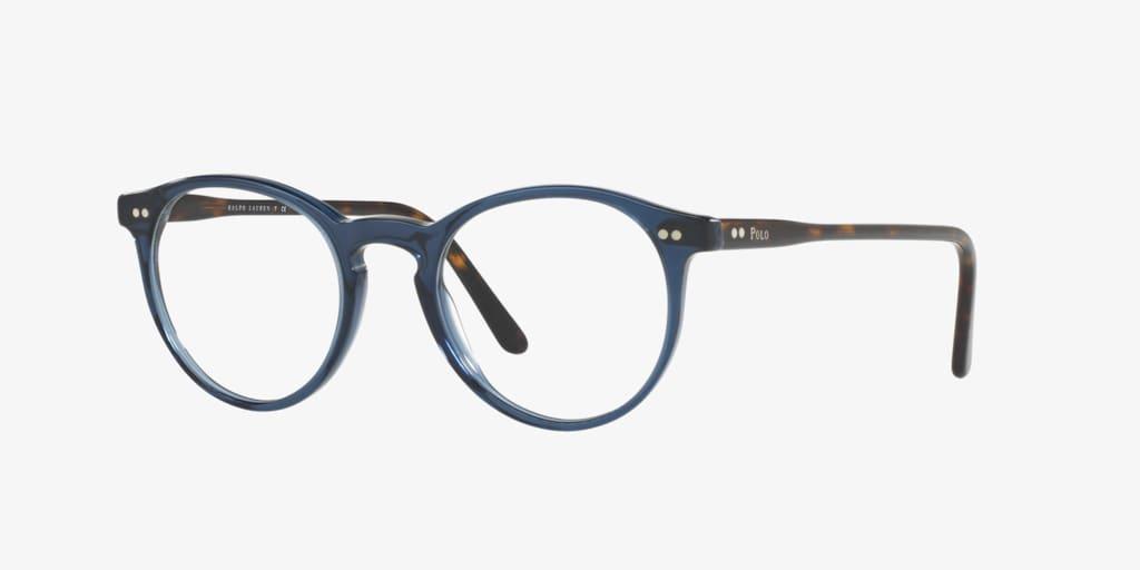 Polo Ralph Lauren PH2083 Shiny Transparent Blue Eyeglasses