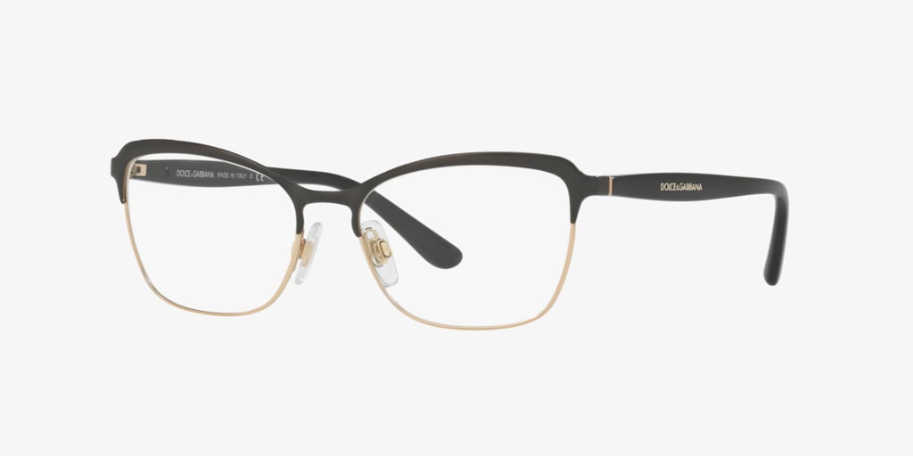 Dolce&Gabbana DG1286 Black/Pink Gold Eyeglasses