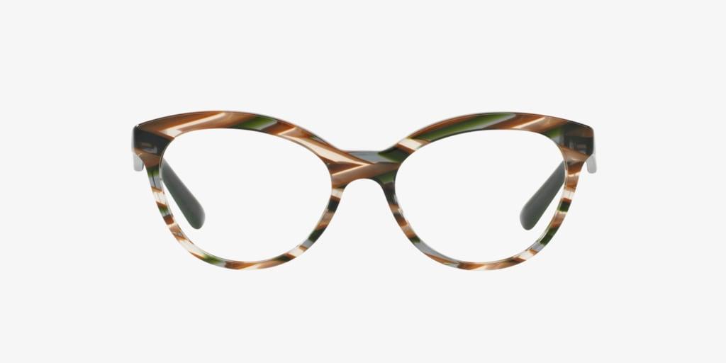 Prada PR 11RV Grey/Brown Eyeglasses