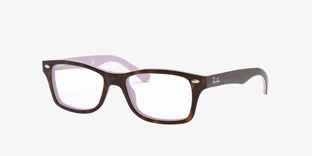 Ray-Ban Jr RY1531 Havana On Violet Eyeglasses