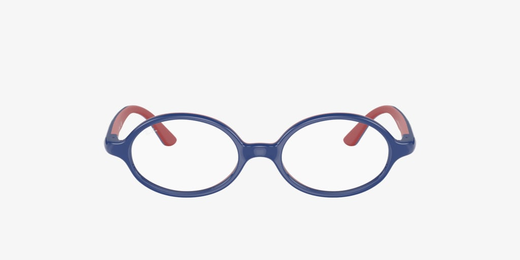 Ray-Ban Jr RY1545 Blue On Rubber Red Eyeglasses