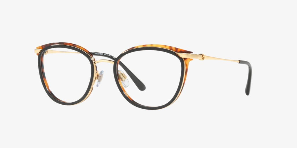 Giorgio Armani AR5074 Gold Black-Yellow Havana Eyeglasses