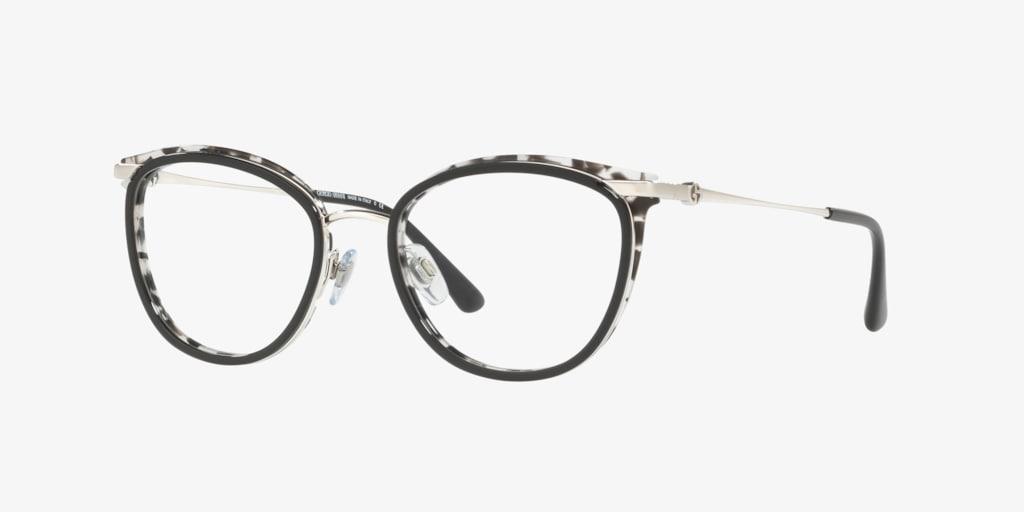Giorgio Armani AR5074 Silver Black-Grey Havana Eyeglasses
