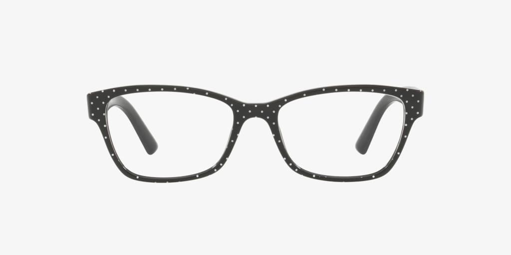 Dolce & Gabbana DG3274 Pois White On Black Eyeglasses