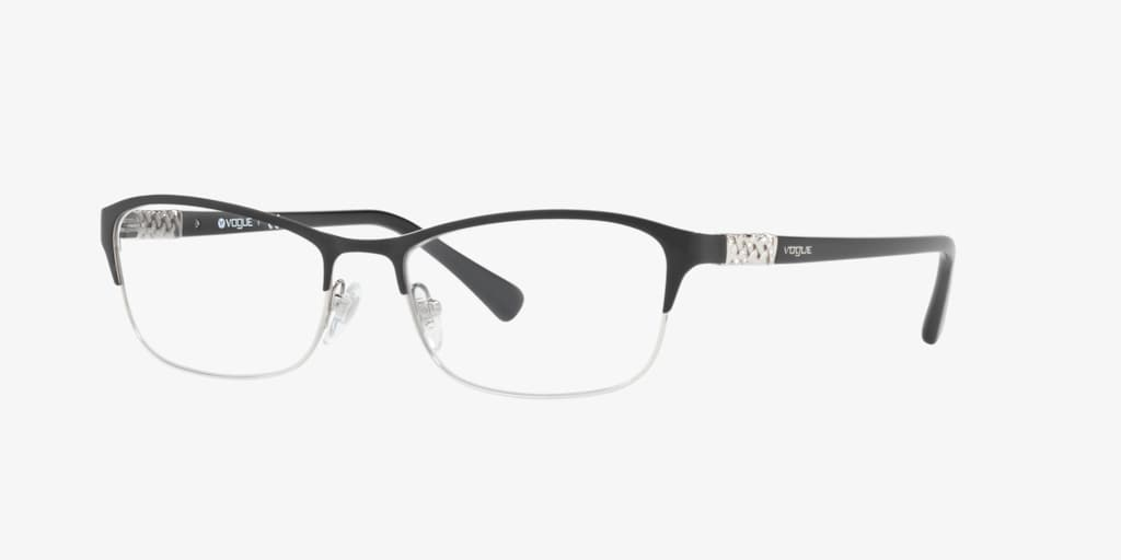 Vogue VO4057B Black/Silver Eyeglasses