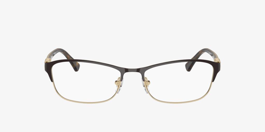 Vogue VO4057B Brown On Pale Gold Eyeglasses
