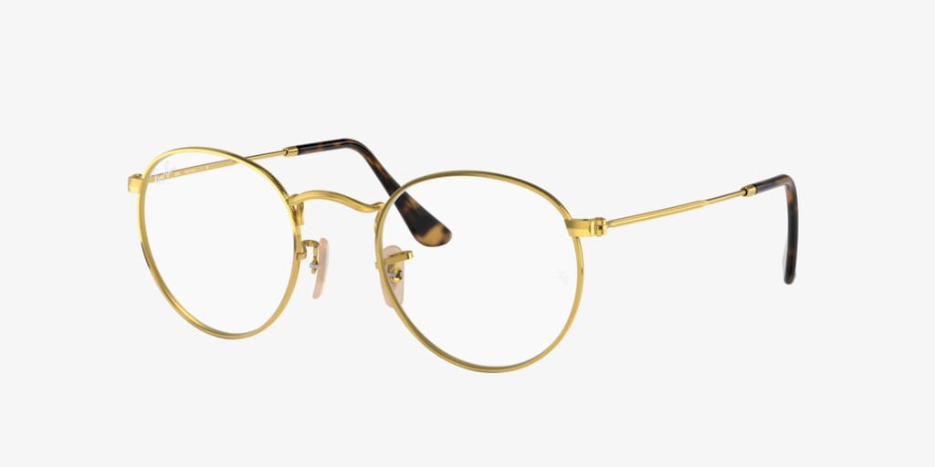 Ray-Ban RX3447V ROUND METAL Gold Eyeglasses