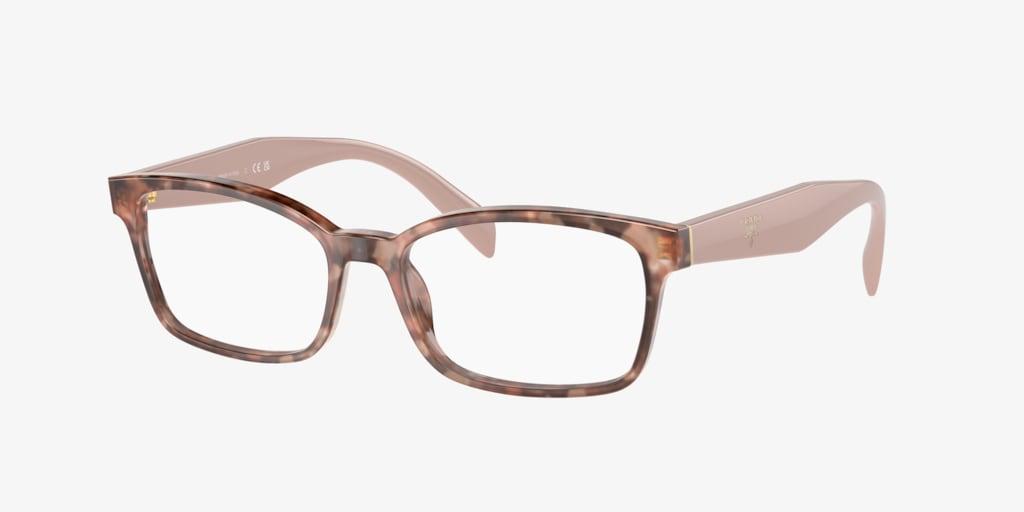 Prada PR 18TV Pink Havana Eyeglasses