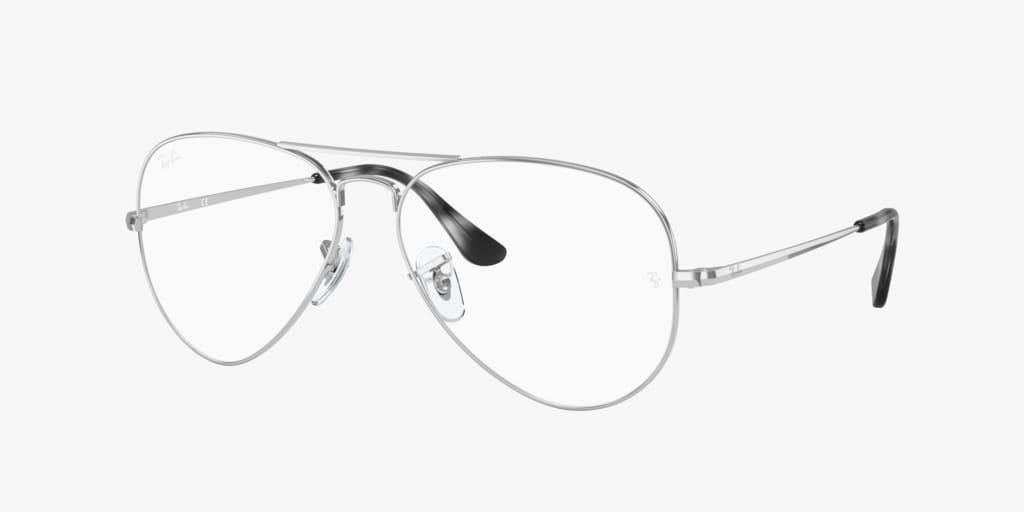 Ray-Ban RX6489 AVIATOR Silver Eyeglasses
