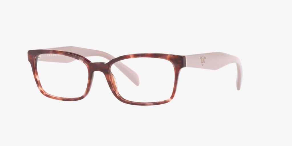 Prada PR 18TVF HERITAGE Pink Havana Eyeglasses