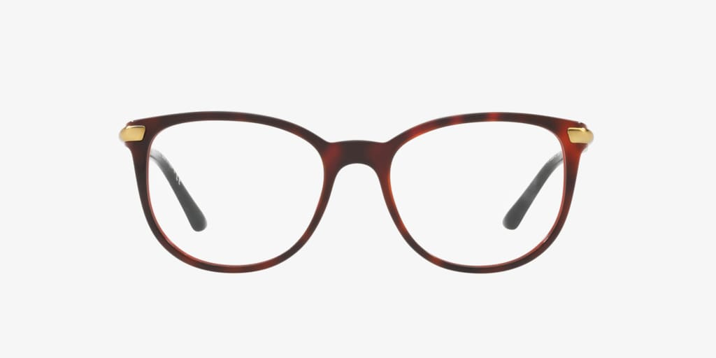 Burberry BE2255Q Havana On Bordeaux Eyeglasses