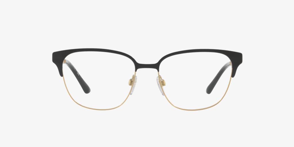 Burberry BE1313Q Black/Light Gold Eyeglasses