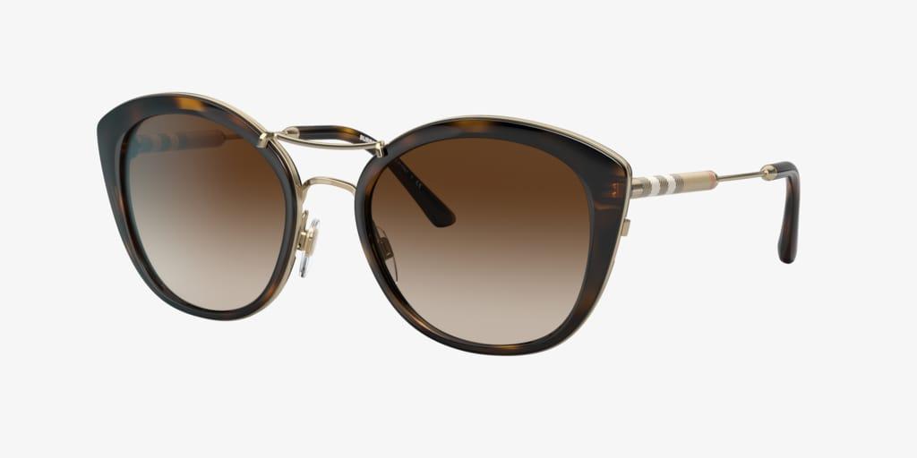 Burberry BE4251Q 53 Dark Havana Sunglasses