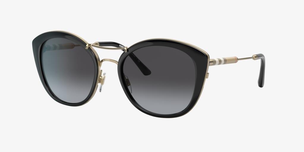 Burberry BE4251Q 53 Black Sunglasses