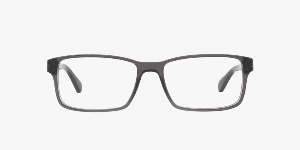 Polo Ralph Lauren PH2123 Shiny Transparent Grey Eyeglasses