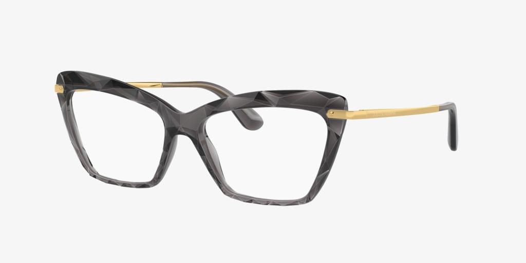 Dolce&Gabbana DG5025 Transparent Grey Eyeglasses