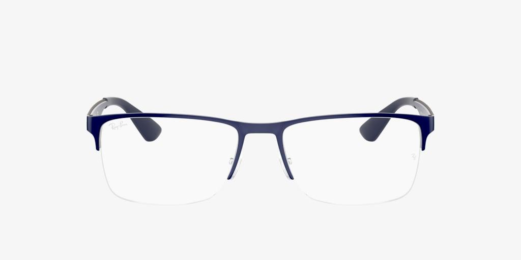 Ray-Ban RX6335 Blue On Gunmetal Eyeglasses