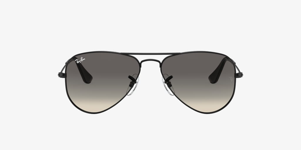 Ray-Ban Jr RJ9506S 50 JUNIOR AVIATOR Black Sunglasses