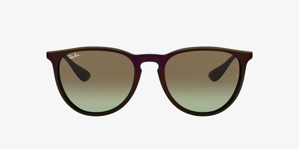 Ray-Ban RB4171 54 ERIKA Mirror Red On Black Sunglasses