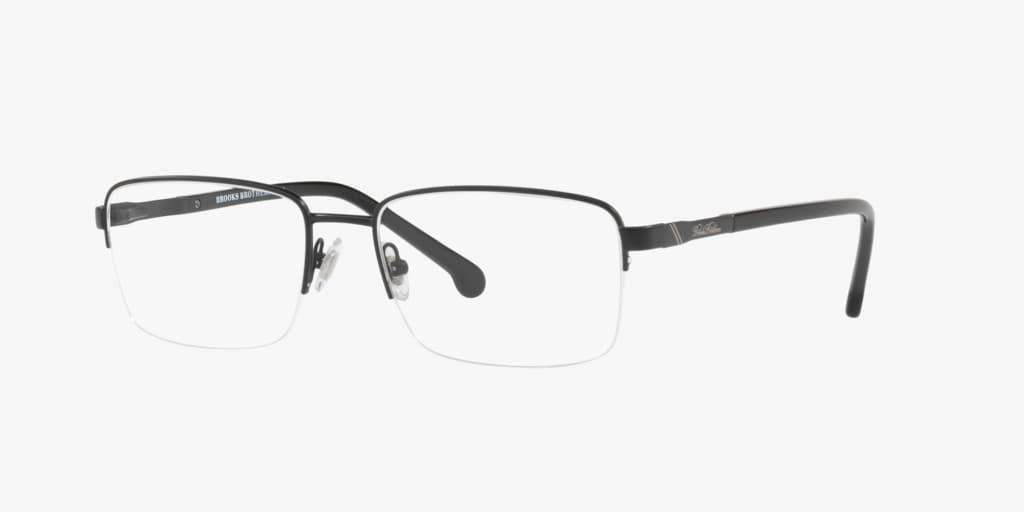 Brooks Brothers BB1044 Matte Black Eyeglasses