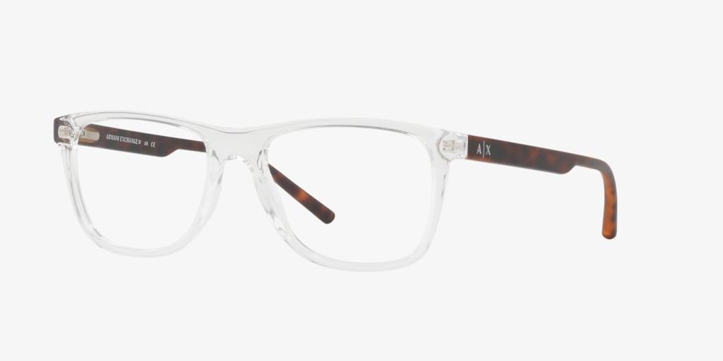Armani Exchange AX3048 Shiny Crystal Eyeglasses